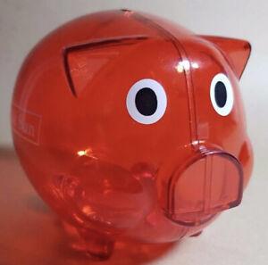 Collectible Westpac Bank Herald Sun Pig Money Box