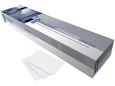Fargo 82279 Adhesive Mylar-backed cards 10 mil, CR-79 Sized (500 Pack)
