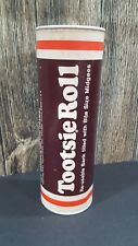 Vintage 1970's TOOTSIE ROLL Container Coin Bank Kidney Foundation Donation 7""