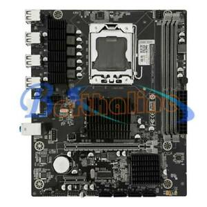 X58 motherboard LGA 1366 support DDR3 memory and xeon processor M-ATX