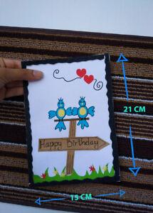 Handmade Birthday Card, Greeting Card, Gift Card