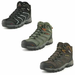 Mens Waterproof Hiking Boots Backpacking Lightweight Outdoor Work Boots Shoes US