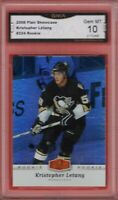 GMA 10 Gem Mint KRIS LETANG 2006/07 UD Flair Showcase ROOKIE Card PENGUINS!