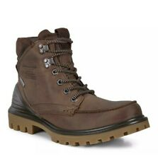 ECCO TREDTRAY Gore-Tex Waterproof Leather Boot Cocoa Brown EU 43 Mens 9 - 9.5  M