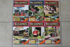 012 EXPRESS - 6 Ausgaben 2010/2011 Nr. 13/16-19 und Extrapress Nummer 1