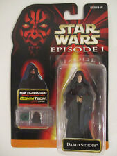 Hasbro Star Wars Episode 1 Red Darth Sidious CommTech (31) 1998 New Sealed Card