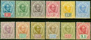 Sarawak 1899 Set of 12 SG36-47 Fine Mtd Mint