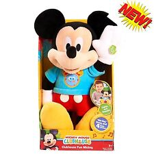 Clubhouse Fun Mickey Mouse Singing Talking Song Minnie Bow-Tique Phrases Doll