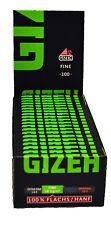 Gizeh Fine grün Blättchen Zigarettenpapier Papier Neu&ovp