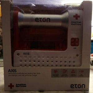 Used, tested, and working American Red cross ETON SELF-POWERED Weather Alert Rad