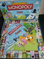 MONOPOLY AMERICAN Adventure Time Collector's Edition Board Game Rare
