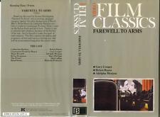 BETA  Farewell To Arms (1932)  (B&W)  Video Film Classics Series  Gary Cooper