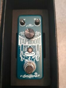 Landlord fx taproom delay guitar effects pedal in box
