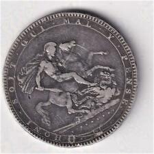 1819 UK SILVER CROWN COIN, KING GEORGE III  Y53