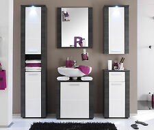 Badezimmermöbel weiß  Badmöbelsets in Weiß | eBay