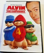 Alvin and The Chipmunks 2007 DVD w/case! In very good cond! Jason Lee PG