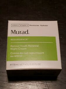 Murad Retinol Youth Renewal Night Cream Travel Size  0.25oz / 7.5ml