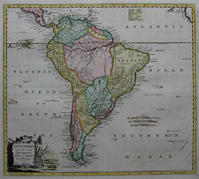 Südamerika - Kitchin / Baldwyn 1794 - South America agreeable to the most ...