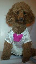 Beautiful White Dress (Extra Small) special occasions Dog Perfect Christmas Gift