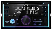 JVC KW-DB93BT Doppel-DIN CD/MP3-Autoradio DAB Bluetooth USB iPod