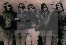 Reproduction recent photos years'40-Pilots Regia Aeronautica - (c11-173)