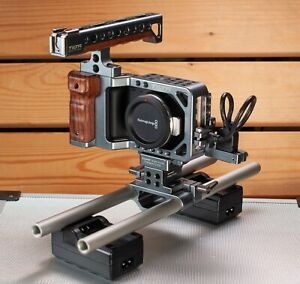Blackmagic Pocket Cinema Camera BMPCC & Tilta ES-T13 Rig & SmallRig NFP Plate