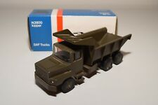 ± LION CAR DAF N2800 N 2800 TRUCK KIPPER TIPPER ARMY GREEN NEAR MINT BOXED