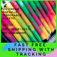 120 Gram Ice Cream Popsicle Disposable Plastic Bag Ice Candy Bag 1 ½ x 12 /'/'