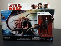 "STAR WARS Force Link - RATHTAR & BALA-TIK 3.75"" Scale Figure Box Set, Hasbro NEW"