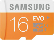 16GB micro SD MicroSD Card Samsung EVO - Galaxy Note Nintendo Switch LG Android