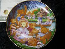 A Teddy Bear Picnic By Carol Lawson A Franklin Mint Collector Plate Fine Porcela