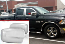 2009-2018 Dodge Ram 1500/10-18 Ram 2500 Chrome Door Mirror Covers-Full No Signal