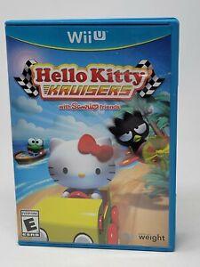 Hello Kitty Kruisers With Sanrio Friends (Nintendo Wii U, 2014) Complete