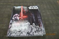 TOPPS STAR WARS OFFICIAL COLLECTORS BINDER WITH OVER 400 COLLECTOR CARDS