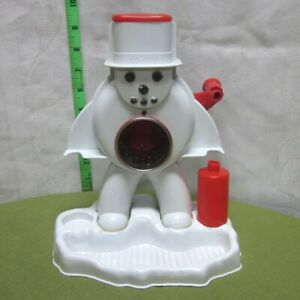 HASBRO incomplete Frosty Sno-Man Snow-Cone Machine vtg 1967 shaved ice