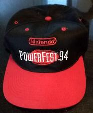 Nintendo PowerFest 94 Hat NWC 1994 Power Fest Cap World Championship NEW