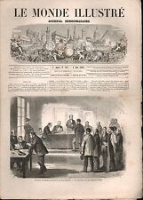 LE MONDE ILLUSTRÉ - N°321 - 06/06/1863 - HERZÉGOVINE BOSNIE - MEXIQUE