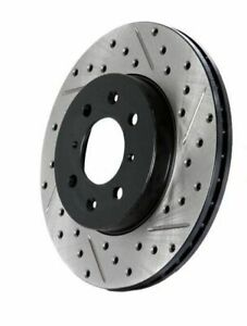 StopTech 127.66057R Drilled &Slotted Front RH Rotor for 05-14 Cadillac/Chevy/GMC