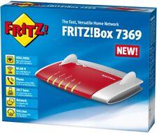 AVM Fritz!Box 7369 Gigabit WLAN Modem DECT USB ADSL/VDSL Router  300 Mbit/s 7390