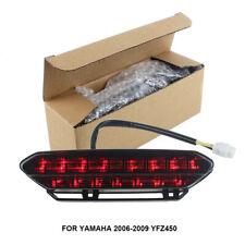 SMOKE YAMAHA 2006-2009 YFZ450 LED TAIL LIGHT YFZ 450 TAILLIGHT ASSEMBLY LAMP