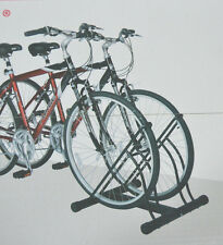 Two Bicycle Bike Stand Racor Garage Floor Storage Organizer Cycling Rack