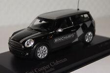 "Mini Cooper Clubman 2008 schw. ""Minichamps"" 1:43 Minichamps neu & OVP 431138672"