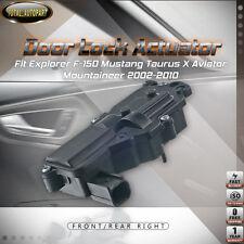 Right Door Lock Actuator for Explorer F-150 Mustang 05-10 Taurus X Aviator Sable