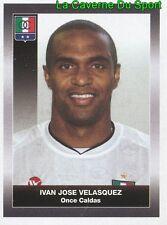 233 IVAN VELASQUEZ ONCE CALDAS STICKER PANINI COLOMBIA PRIMERA A 2008