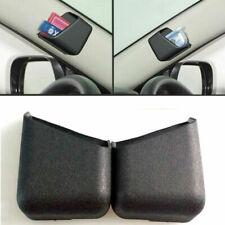 2pcs Black Car Pen Card Phone Organizer Storage Box Tidy Holder Accessories