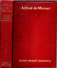 1931 BIOGRAPHY ALFRED DE MUSSET AUTHOR ILLUSTRATED FIRST EDITION