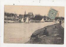 Joinville Le Pont Regates A La Voile France 1908 Postcard 810a
