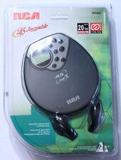 RCA Portable CD Player RP2404 (GREY, NEW)