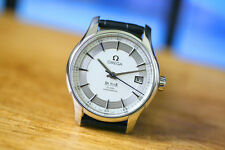 Men's Omega DE VILLE Hour Vision White Silver Dial Co-Axial cal 8500 Watch B&P