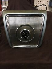 1962 1963 1964 CHEVY IMPALA REAR SEAT SPEAKER COVER ASSEMBLY, GRILL W/ Speaker